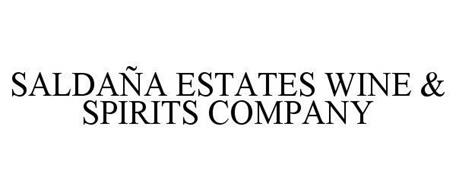 SALDAÑA ESTATES WINE & SPIRITS COMPANY