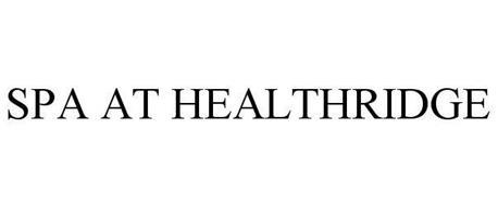 SPA AT HEALTHRIDGE