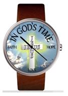 IN GOD'S TIME FAITH HOPE LOVE AND JESUS
