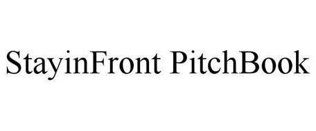 STAYINFRONT PITCHBOOK