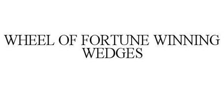 WHEEL OF FORTUNE WINNING WEDGES