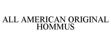 ALL AMERICAN ORIGINAL HOMMUS