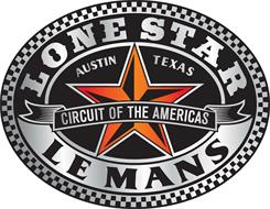 LONE STAR LE MANS CIRCUIT OF THE AMERICAS AUSTIN TEXAS