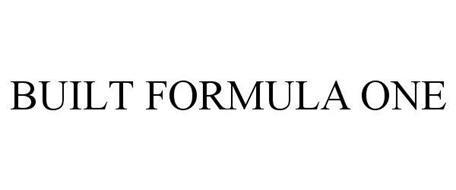 BUILT FORMULA ONE
