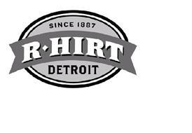 SINCE 1887 R HIRT DETROIT