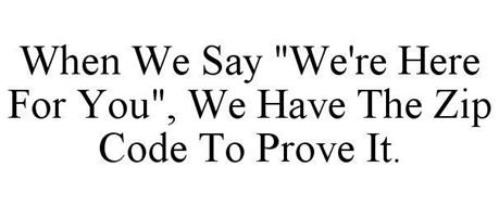 WHEN WE SAY
