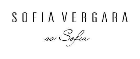 SOFIA VERGARA SO SOFIA
