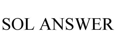 SOL ANSWER