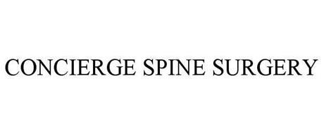 CONCIERGE SPINE SURGERY