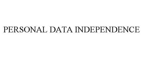 PERSONAL DATA INDEPENDENCE