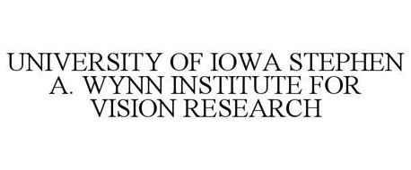 UNIVERSITY OF IOWA STEPHEN A. WYNN INSTITUTE FOR VISION RESEARCH