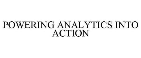POWERING ANALYTICS INTO ACTION