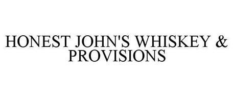 HONEST JOHN'S WHISKEY & PROVISIONS