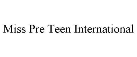 MISS PRE TEEN INTERNATIONAL