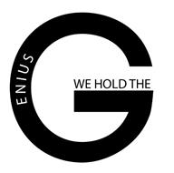 G ENIUS WE HOLD THE
