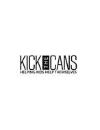 KICK AND CANS HELPING KIDS HELP THEMSELVES