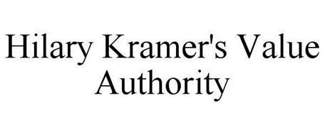 HILARY KRAMER'S VALUE AUTHORITY