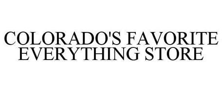 COLORADO'S FAVORITE EVERYTHING STORE