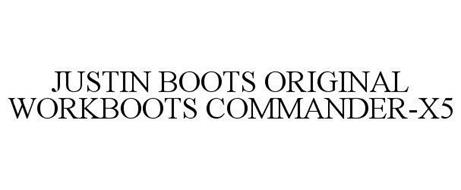 JUSTIN BOOTS ORIGINAL WORKBOOTS COMMANDER-X5