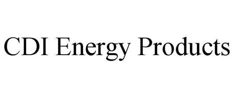 CDI ENERGY PRODUCTS