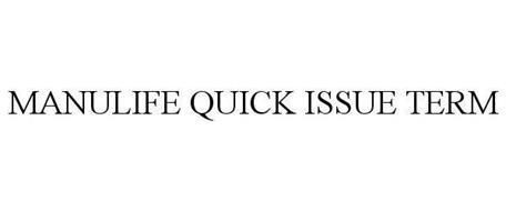 MANULIFE QUICK ISSUE TERM