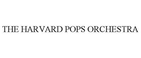 THE HARVARD POPS ORCHESTRA