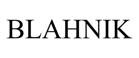 BLAHNIK