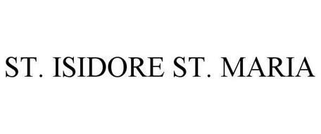 ST. ISIDORE ST. MARIA