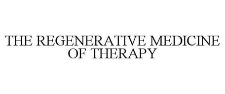 THE REGENERATIVE MEDICINE OF THERAPY