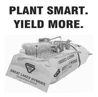 PLANT SMART. YIELD MORE. GREAT LAKES HYBRIDS GENERATIONS AHEAD SEED CORN