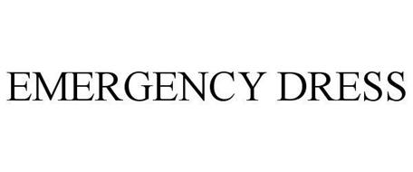 EMERGENCY DRESS