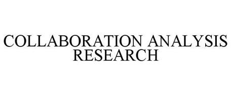 COLLABORATION ANALYSIS RESEARCH