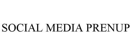 SOCIAL MEDIA PRENUP