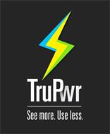TRUPWR SEE MORE. USE LESS.