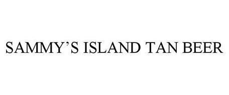 SAMMY'S ISLAND TAN BEER