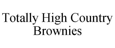 TOTALLY HIGH COUNTRY BROWNIES