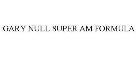 GARY NULL SUPER AM FORMULA
