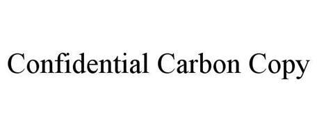 CONFIDENTIAL CARBON COPY