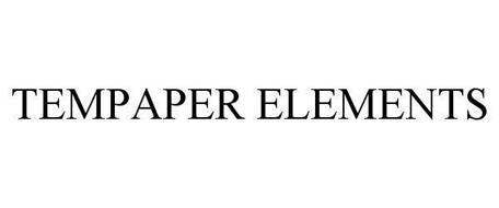 TEMPAPER ELEMENTS