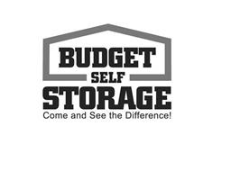 BUDGET SELF STORAGE COME AND SEE THE DIFFERENCE!