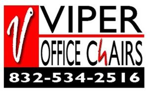 V VIPER OFFICE CHAIRS 832-534-2516