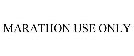 MARATHON USE ONLY