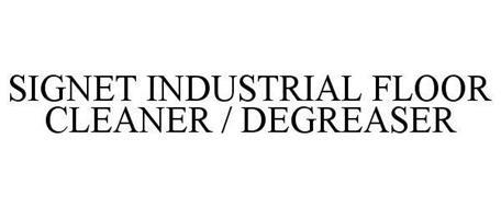 SIGNET INDUSTRIAL FLOOR CLEANER / DEGREASER