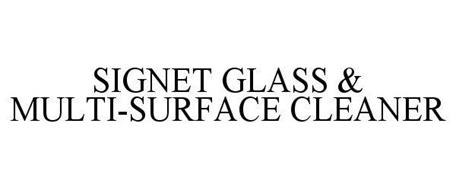 SIGNET GLASS & MULTI-SURFACE CLEANER
