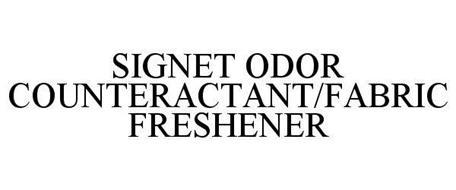 SIGNET ODOR COUNTERACTANT/FABRIC FRESHENER