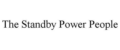 THE STANDBY POWER PEOPLE