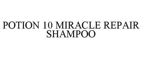POTION 10 MIRACLE REPAIR SHAMPOO