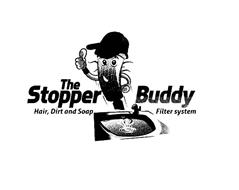 THE STOPPER BUDDY HAIR, DIRT AND SOAP FILTER SYSTEM