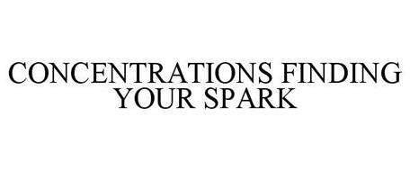 CONCENTRATIONS FINDING YOUR SPARK