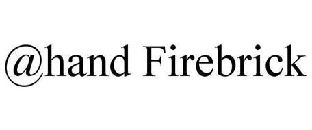 @HAND FIREBRICK